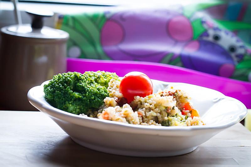 Mamalyga_kasza jeczmienna z warzywami