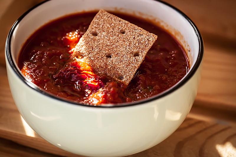 Mamalyga_zupa kremz  suszonych pomidorow