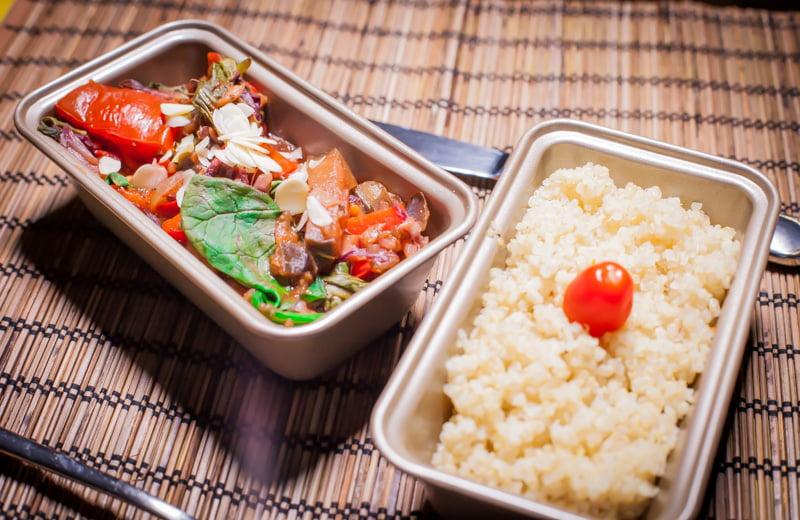 Mamalyga_beztłuszczowe warzywa z komosa ryzowa