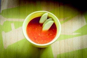 Mamalyga_krem z papryki z jablkami