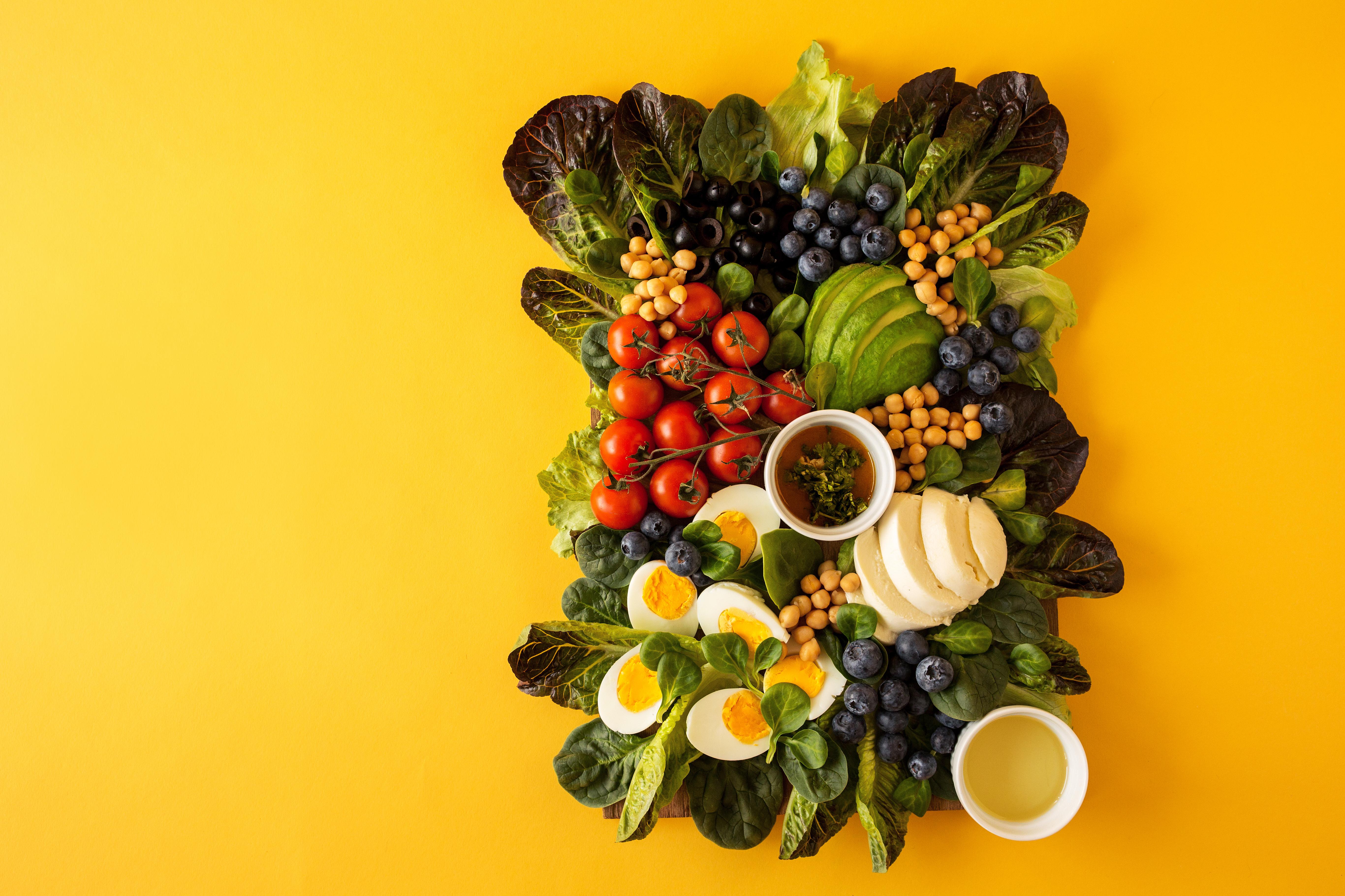 mamałyga-cobb salad DANIE#2