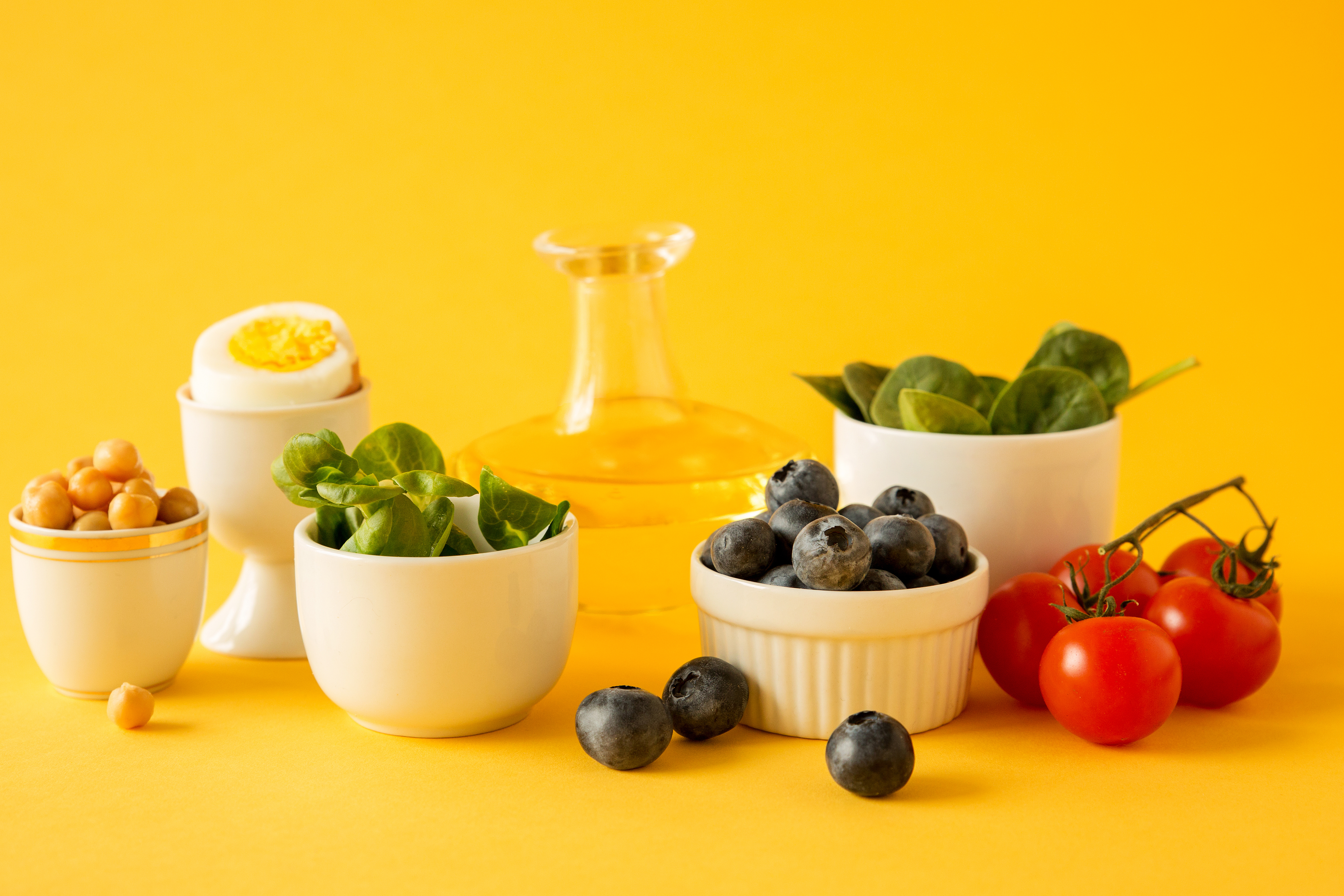 mamałyga- cobb salad PRODUKTY